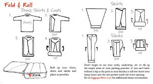 how to fold dress shirt for travel images Best way to fold shirts for travel jpg