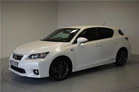 lexus ct 200h for sale used 2012 lexus ct 200h 1 8 f sport 5dr cvt auto for sale in