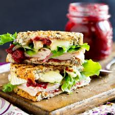 turkey brie grilling sandwich best fast healthy thanksgiving
