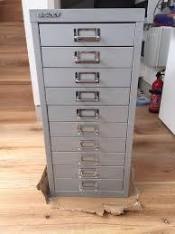Bisley 10 Drawer Filing Cabinet Bisley 10 Drawer Filing Cabinet Silver Bar Cabinet