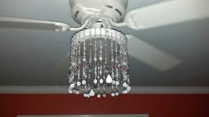 ceiling fan and chandelier mess of the day ikea hack ceiling fan chandelier glam up my