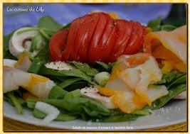 cuisiner le haddock fumé salade de pousses d épinards et haddock fumé la cuisine de lilly