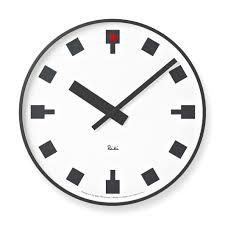 designer kitchen wall clocks hibiya clock moma design store