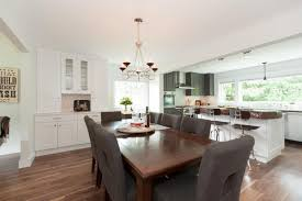 open concept kitchen with half wall norma budden