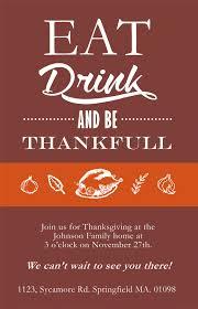 ideas for thanksgiving invitations happy thanksgiving