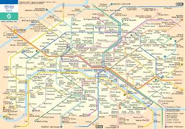 Gold Line Metro Map by Tips For Easily Getting Around France By Public Transportation