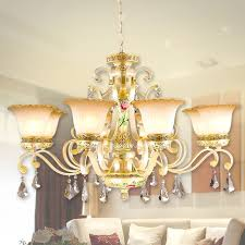 Chandelier Glass Globes Uplight 8 Light Glass Shade For Chandeliers Resin Painting Finish