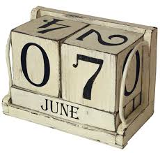 amazon com ohio wholesale shabby chic perpetual calendar from