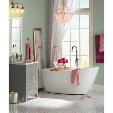 Tub Faucet Hand Shower Kingston Brass Concord Single Handle Floor Mount Tub Faucet With