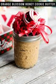 orange blossom honey cookie butter mason jar gift idea this