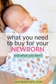 newborn baby essentials honest shopping list of newborn needs the baby stuff to