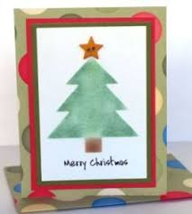 easy to make christmas cards from a punch out kit cards