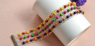 beaded ring bracelet images Diy chainmail jewelry on how to make a jump ring bracelet with jpg