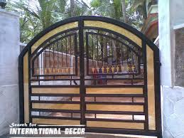 modern gothic home decor choice of gate designs for private house and garage iron design