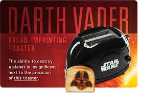 Vader Toaster Thinkgeek Join In Geek Out