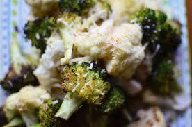 barefoot contessa roasted broccoli parmesan roasted broccoli and cauliflower simple sweet savory
