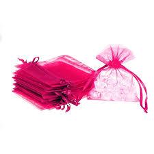 pink organza bags organza bags 10 x 13 cm 25 pcs i shop