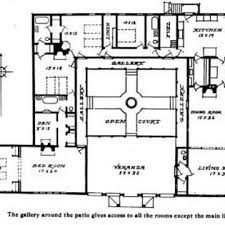 style house plans with interior courtyard house courtyard style house plans