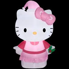 Home Depot Inflatable Christmas Decorations Hello Kitty Christmas Inflatables Outdoor Christmas