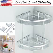Corner Shelving Bathroom Shoo Basket Shower Caddy Shelf Bathroom Corner Rack Storage