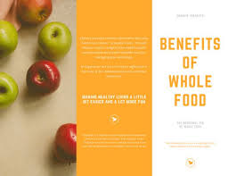 nutrition brochure template image heavy wellness brochure templates by canva