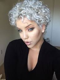 short curly grey hairstyles 2015 the 25 best curly gray hair ideas on pinterest why grey hair is