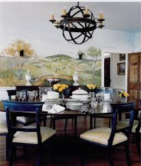 Dining Room Murals Train Murals For Kids Contemporary With Silhouette Toy Storage Bins