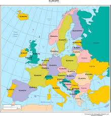 Interactive World Map Interactive Map Of Europe Europe With Countries And Seas
