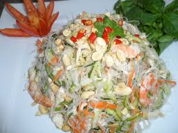 Noodle Salad Recipes Chicken And Shrimp Clear Noodle Salad Recipe Youtube