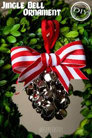 diy jingle bell ornament top easy interior decor design