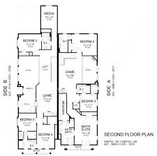 house plans for duplex plan and elevation sq ft 1500floor houses