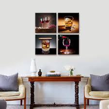 amazon com home decor canvas wall art 4 panels canvas prints