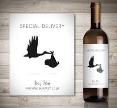 étiquette de vin personnalisée grossesse annonce idées