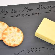 personalized cheese platter personalised engraved wedding cheese board by winning works