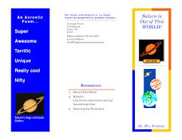 brochure templates for school project brochure brochure template for school project