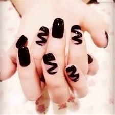 Nail Art Design Black 25 Best Black Nail Tips Ideas On Pinterest Nail Art Techniques