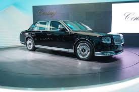 toyota century toyota sedan looks straight out of the u002790s but it u0027s actually