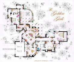 artist sketches the floor plans of popular tv homes design