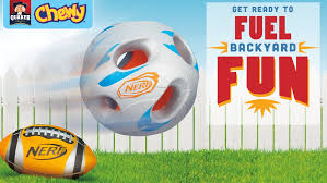 Backyard Football Rules Nerf And Quaker Chewy Team Up To Fuel Backyard Fun