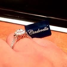 cinderella engagement ring enchanted disney cinderella 1 ct t w frame collar