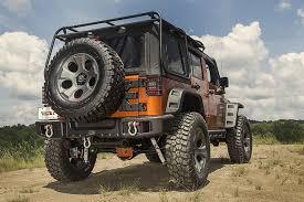free shipping on rugged ridge spartacus rear bumper wrangler jk