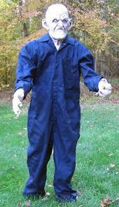 Grave Digger Halloween Costume Scarefx Halloween Props Lifesize Creatures