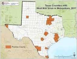 Tx Counties Map Tx2017mosquito Jpg