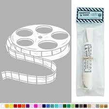 movie film reel vinyl sticker decal wall art décor ebay