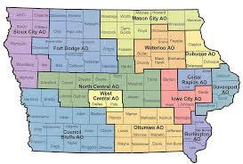 Iowa Map Usa by Iowa Vocational Rehabilitation Services Contact Us