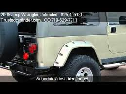 2005 jeep wrangler unlimited rubicon for sale 2005 jeep wrangler unlimited unlimited rubicon for sale in