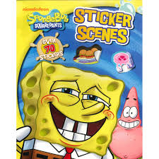 spongebob squarepants sticker scenes by nickelodeon sticker