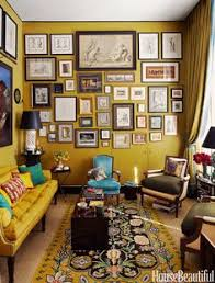 Beautiful Home Interiors A Gallery by Living Space With High Ceilings Exposed Brick And A Gallery Wall