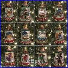 12 days of christmas ornaments world christmas 12 days of christmas bells glass christmas