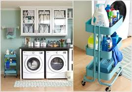Laundry Room Cart - 15 clever ikea rolling cart hacks that are simply awesome